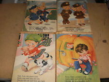1940'S Kid'S Puzzles Lot Of 4 Rare!