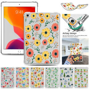 "For iPad Mini Air Pro 7.9"" 9.7"" 10.2"" 11"" 12.9"" Soft Silicone TPU Gel Case Cover"