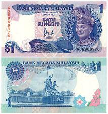 Malaysia $1 P#27b (1989) Bank Negara Malaysia VF