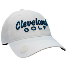 New With Tags Cleveland Golf Cap, CG, White & Navy Including Ball Marker