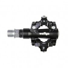 Wellgo M094B Clipless Mountain Bike Pedals SPD Compatible - Black