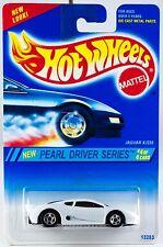 Hot Wheels No. 296 Pearl Driver Series #4 Jaguar XJ220 5 Spoke Wheels New 1995