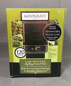 Moonrays 120 Watt Low Voltage Lighting Control Unit for Outdoor Lighting (Black)
