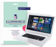2x iLLumiShield Matte Screen Protector Anti-Glare for Acer Chromebook 15 (2016)