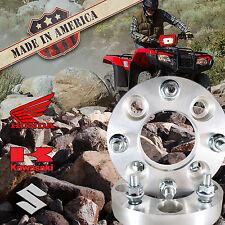 "USA MADE | ATV 1"" Honda Suzuki Kawasaki Wheel Adapters Spacers | 4x110 to 4x156"