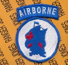 US ARMY School of the Americas Special Operations Airborne reversed SOA patch