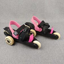 Adjustable Skates 3 Wheel Cardiff Cruiser Youth Girls Pink Strawberry 45-120 Lb