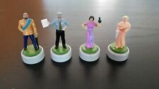 Clue Fx Figures Pawns Movers Tokens -VGC- Board Game Parts Pieces