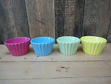 Plastic Cup Cake Jelly Moulds Set of 4 S
