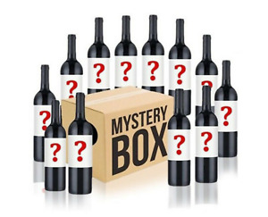 Australian Mystery Labelled Red Wine Mixed 12 Bottles RRP $278