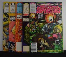 Hollywood Superstars #s: 1, 2,3,4,5 (Epic, 1990-1991)  Complete Set