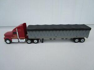 Ertl Simon's Feed Store International 1:64 Semi Truck Tractor & Hopper Trailer