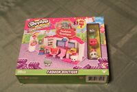 SHOPKINS KINSTRUCTIONS FASHION BOUTIQUE-NIB