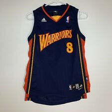 Adidas NBA Golden State Warriors Monta Ellis Swingman Away Jersey Youth Sz M Vtg