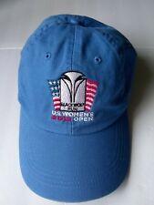USGA 2012 US Women's Open Blackwolf Run Adjustable Ahead Hat Light Blue NEW