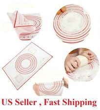 16*12 inches Silicone Dough Rolling Mat Baking Pastry Pad Sheet Liner Non-Stick