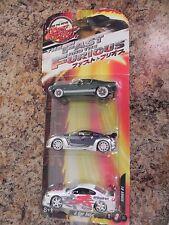 SERIES#1  JoyRide Studios The Fast & Furious Tokyo Drift 3 CAR SET