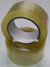 24 Mm x 23 M Cinta Adhesiva 4 Rollos De Embalaje Transparente Violonchelo pegajoso Oficina Estacionario