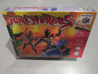 Dual Heroes Nintendo 64 N64 Brand New Factory Sealed Fast Free Shipping! duel