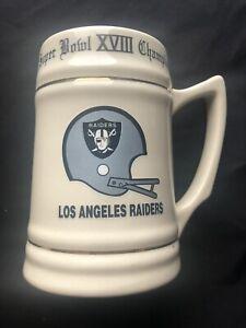 LA Raiders XVIII Super Bowl Champs mug