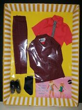 VINTAGE Barbie KEN The VIP Scene Complete New In Box * NOS * Japan