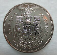 1987 CANADA 50 CENTS PROOF-LIKE COIN