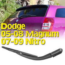 US BLK Rear Window Windshield Wiper Blade+Arm For 05-08 Dodge Magnum 07-09 Nitro