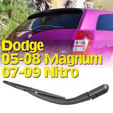BLK Rear Window Windshield Wiper Blade+Arm For 05-08 Dodge Magnum 07-09 Nitro CT