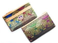 Thai Elegant Silk Elephant Handmade Clutch Women Purse Phone Bag Gift Souvenir