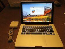 Apple Macbook Pro (13-inch Mid 2010) Core 2.4 GHZ Core 2 Duo 250GB SSD 16GB Ram