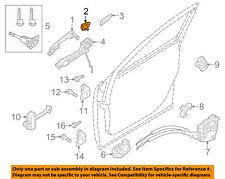 MAZDA OEM 14-17 6 Front Door-Cap Right BJS75841513