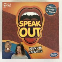 New Speak Out Family Board Game Hasbro