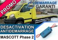 Clé de désactivation d'anti démarrage Renault MASCOTT PHASE 2