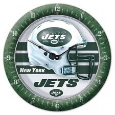 Wincraft NFL Round Wall Game Clock New New York Jets