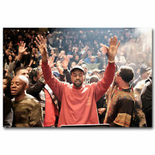 30x20 36x24 Poster Kanye West The Life Of Pablo Rapper Hip Hop Super Star T-554