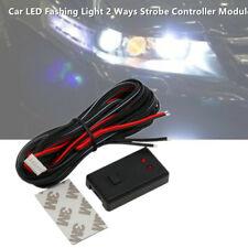 Car LED Light Flash Strobe Controller Box Flasher Module 2 Ways 12V/24V +Sticker