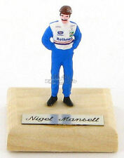 Nigel Mansell Williams Days Figurine 1:43