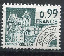 FRANCE TIMBRE   PREOBLITERE  N° 167  OBL  CHATEAU DE KERJEAN