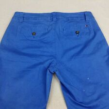 Ladies Tommy Hilfiger Blue Khaki Casual Pants Sz 6 Free Shipping             420