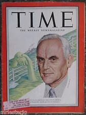 Time Magazine   February 4, 1952   Clarence Decatur Howe    GREAT ADS