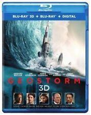 GEOSTORM (3-D)  -  Blu Ray - Sealed Region free