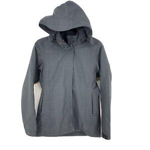 REI 808373 Women's S Casual Rain Jacket Madrona Thicket Gray Wind/Waterproof