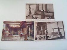 3 Vintage Postcards ANNE HATHAWAY'S COTTAGE Stratford On Avon