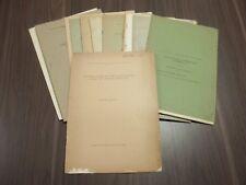 Lot of 14 EDWARD WILBER BERRY Vintage Articles Paleontology Botany Paleobotany