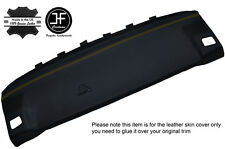 YELLOW STITCH REAR PARCEL SHELF LEATHER COVER FITS BMW 3 SERIES E30 1981-1992