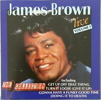 James Brown Live Volume 1 The Collection CD Album