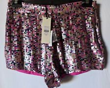 "WOMEN'S SHORTS TOPSHOP SEQUIN SIZE 10/28"" NEW WITH TAGS RRP $120.00 FREE POSTAGE"
