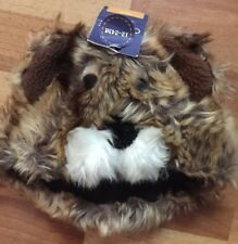 Cherokee Infant Bear Critter Hat W/ Ears Brown Boys Size INF 12-24 Mo.