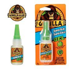 Gorilla Glue Super Glue Gel 15g Ideal for Metal Wood Ceramic Paper Rubber