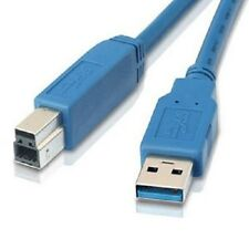 10Ft USB 3.0 A male to B male usb cable-Blue